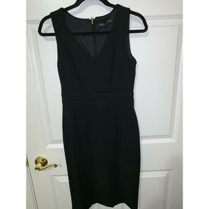 {White house black market} Black Dress
